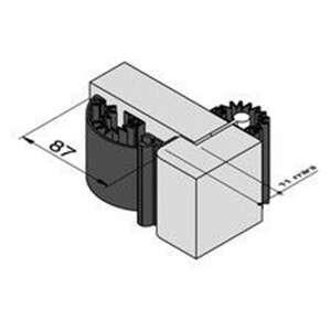 Image du produit ANTI PINCE DOIGT ARGENT M1 HT.2.05M CF