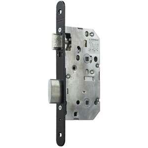 Image produit SERRURE D453 NF BDCC AXE50 ENTRAXE70 C7 SANS GACHE PAQ25 GAUCHE BOUTS RONDS NOIR