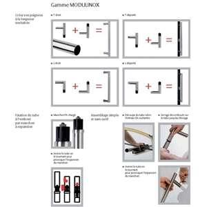 Image produit PG MODULINOX COUDE DROIT DEP. 2XEMOUT